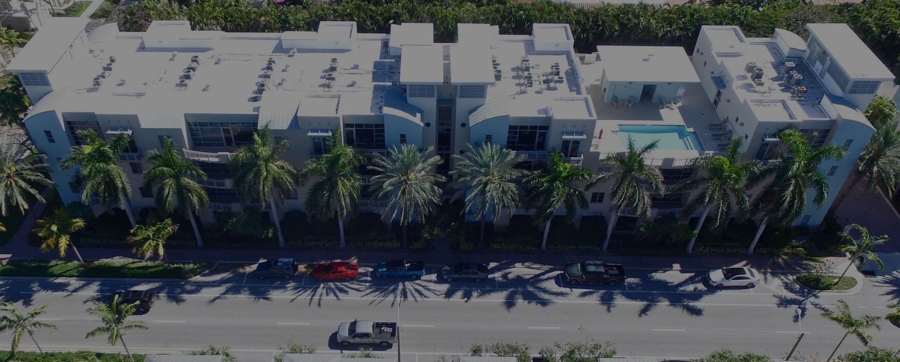 Condo Building - Lawn Care Services